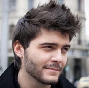 Corte de pelo con forma de Picos